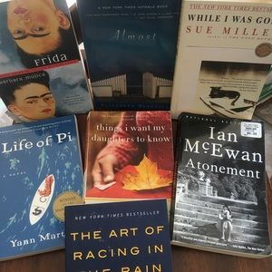 7 bestsellers books novels like new